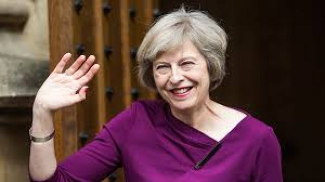Il cancelliere britannico Theresa May